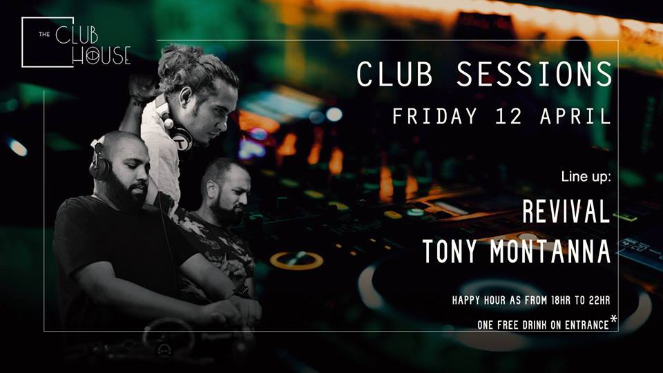 Club Sessions 003 - w/ Revival & Tony Montanna