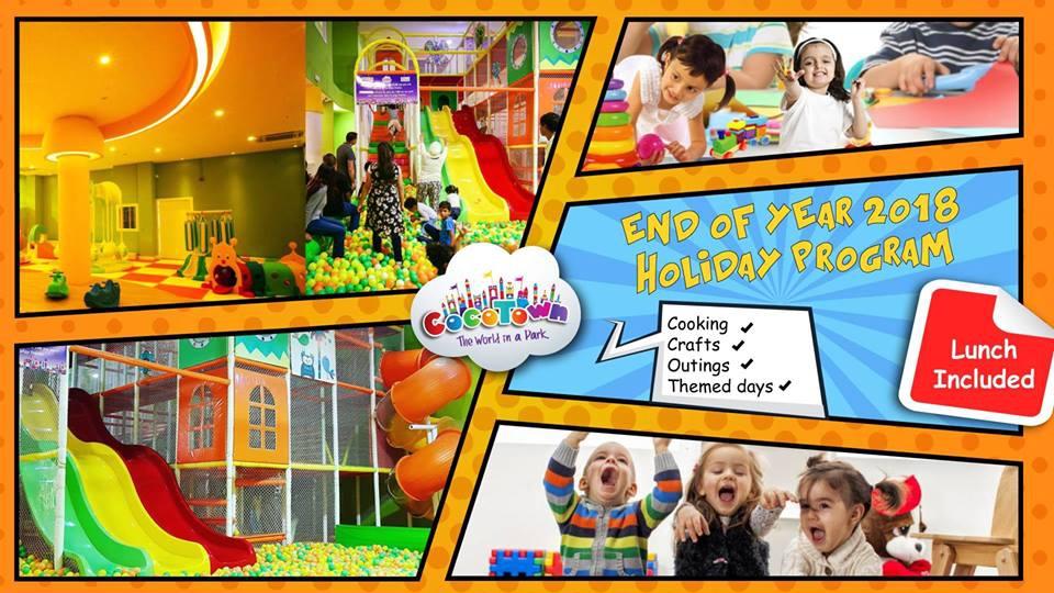 CocoTown Holiday Program ( November December 2018)
