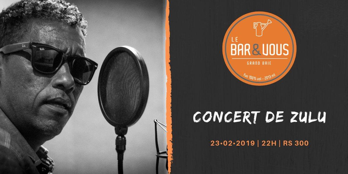 Concert Zulu au Bar & Vous