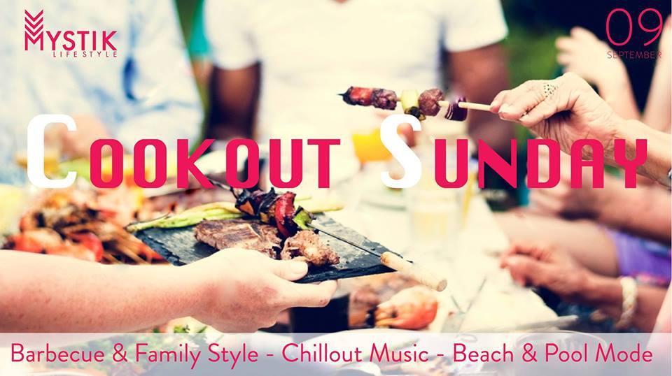 Cookout Sunday at Mystik Life Style