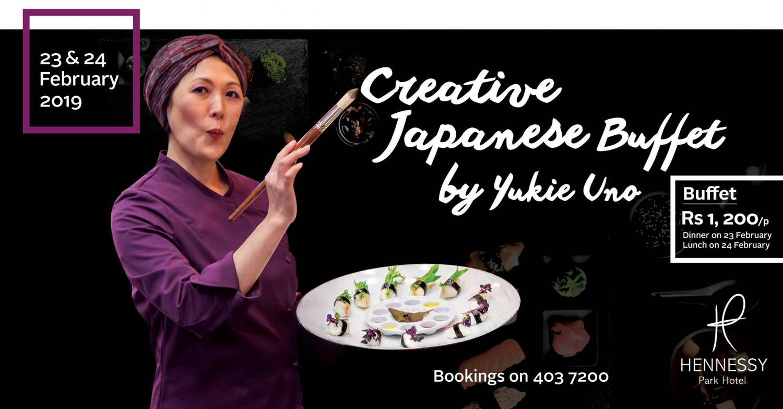 Creative Japanese Buffet by Yukie Uno