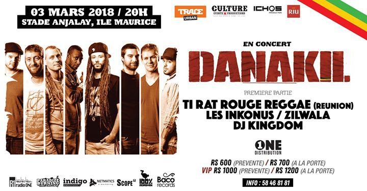 Danakil Mauritius Concert