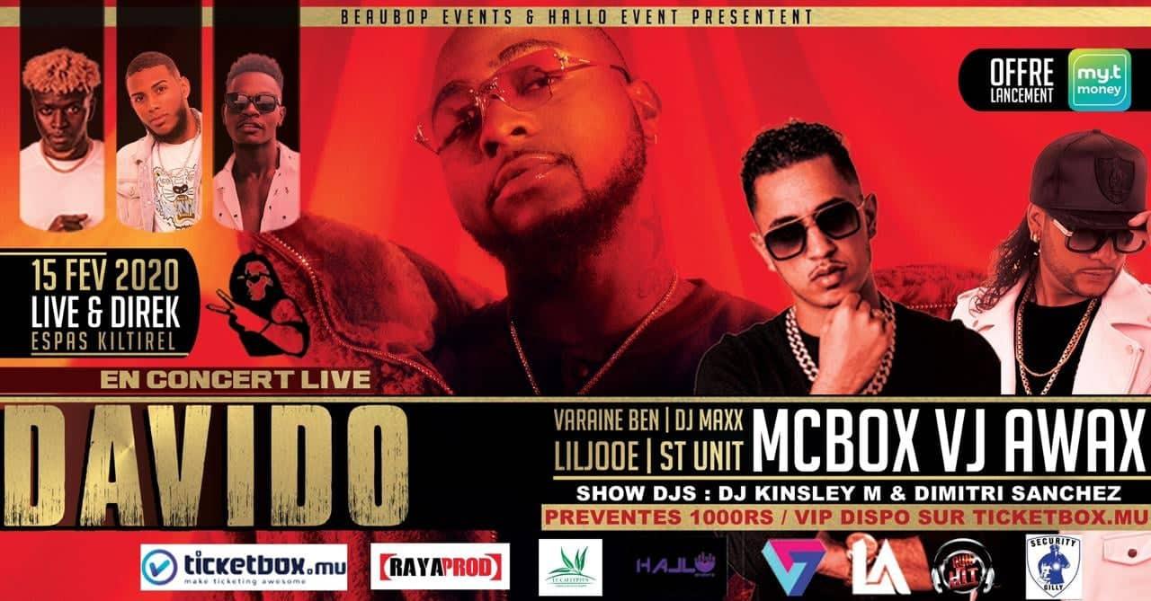 Davido Concert Live in Mauritius