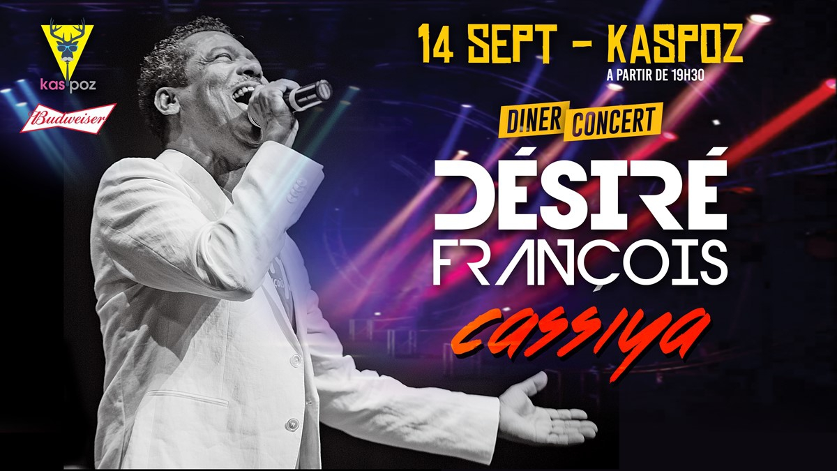 Désiré François & Cassiya - Diner Concert
