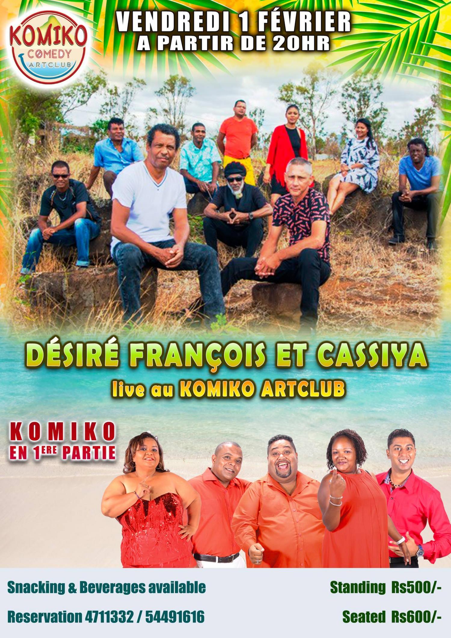 Desire Francois & Cassiya & Komiko