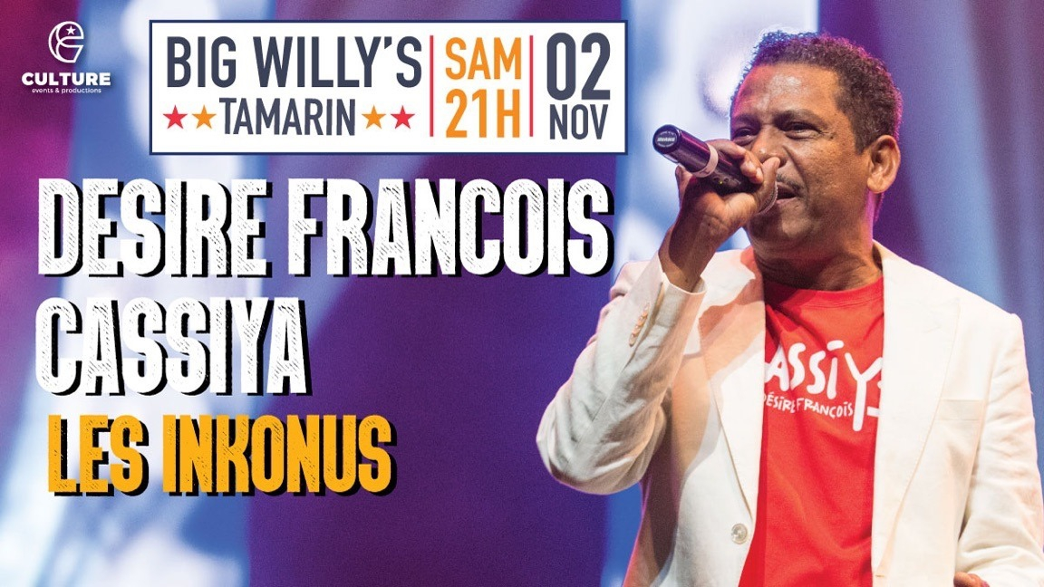 Désiré François & Cassiya // Les Inkonus Live at Big Willy's