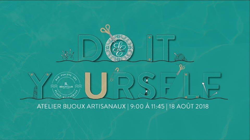 DIY – Atelier bijoux artisanaux at R Beach Club