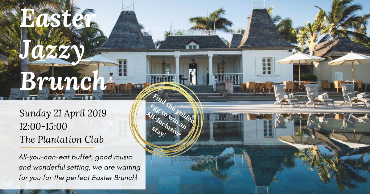 Easter JAZZY Brunch at Outrigger Mauritius Beach Resort