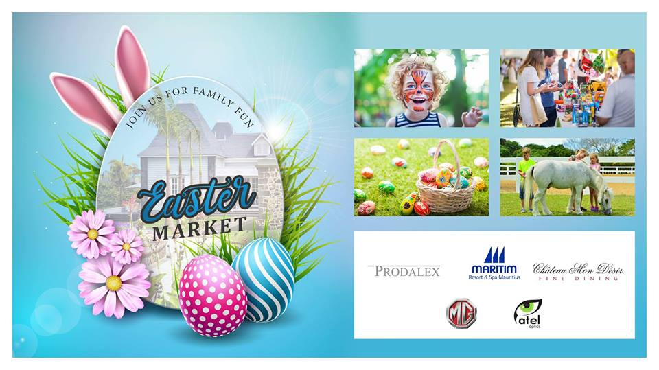 Easter Market at Chateau Mon Desir