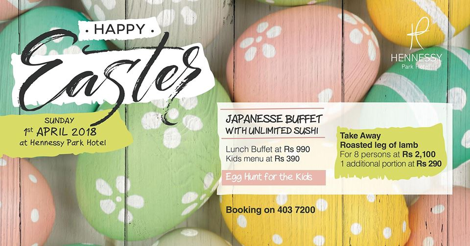 Easter Sunday Lunch Buffet