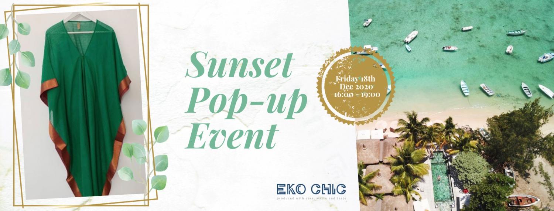 Eko Chic Sunset Pop-up Event