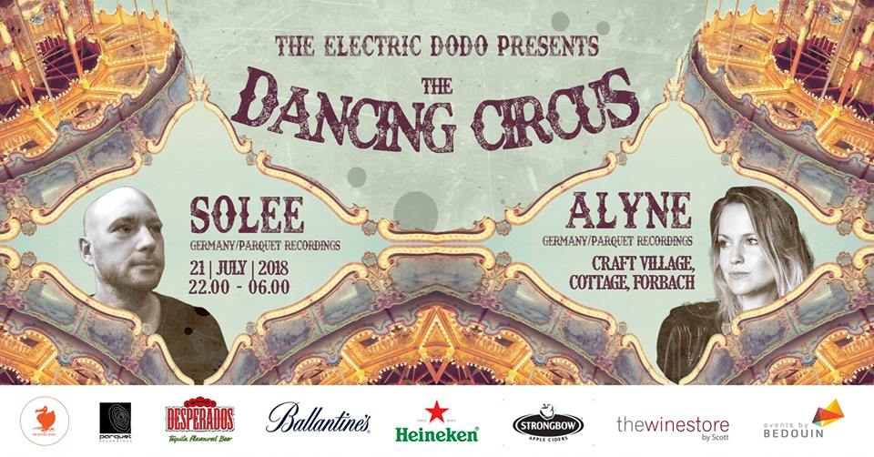 Electric Dodo presents 'The Dancing Circus'