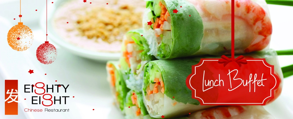 End of Year Lunch Buffet at Eighty Eight Chinese Restaurant Bagatelle