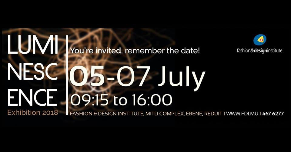 Exhibition Luminescence At Fashion Design Institute Ebene My Guide Mauritius