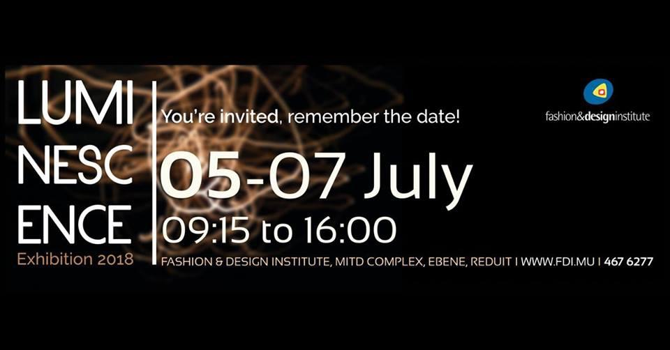 Exhibition - Luminescence at Fashion & Design Institute Ebene