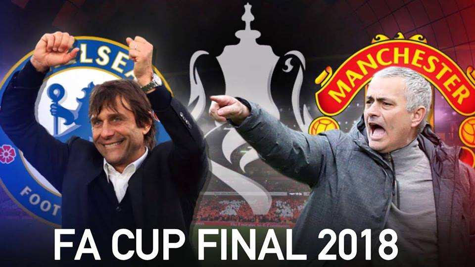 FA Cup Final 2018 Manchester United V/S Chelsea