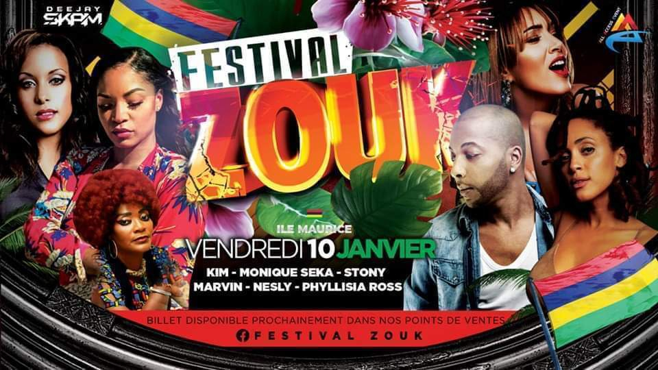 Festival Zouk Mauritius 1st Edition