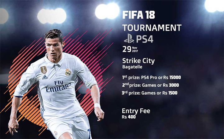 FIFA 18 Tournament at Strike City, Bagatelle