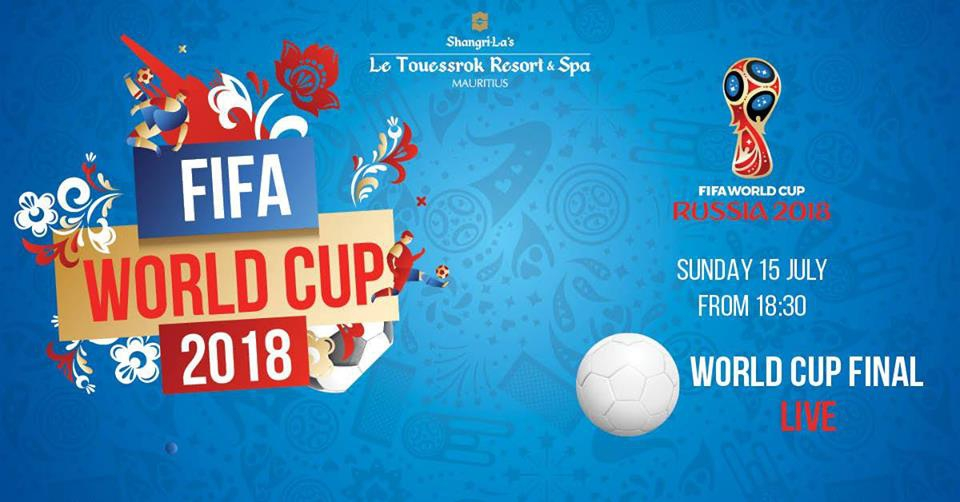 FIFA World Cup 2018 Final at Shangri-La's Le Touessrock Resort & Spa