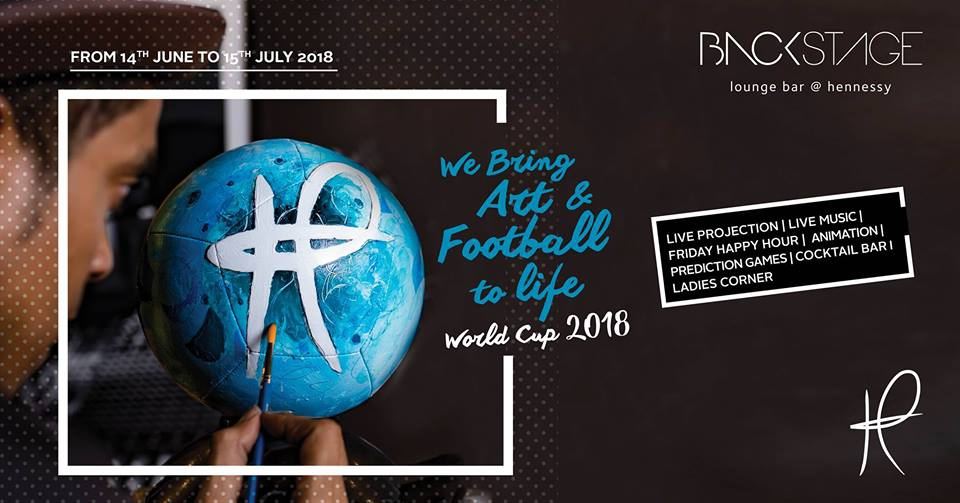 FIFA World Cup Russia 2018 at Backstage