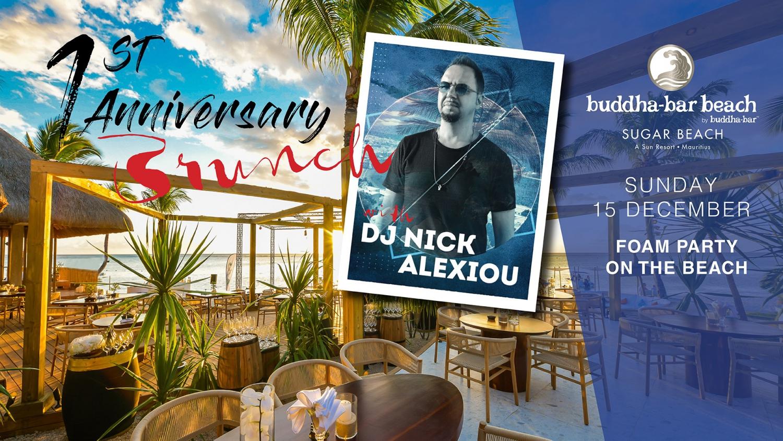 First Anniversary Brunch featuring Dj Nick Alexiou