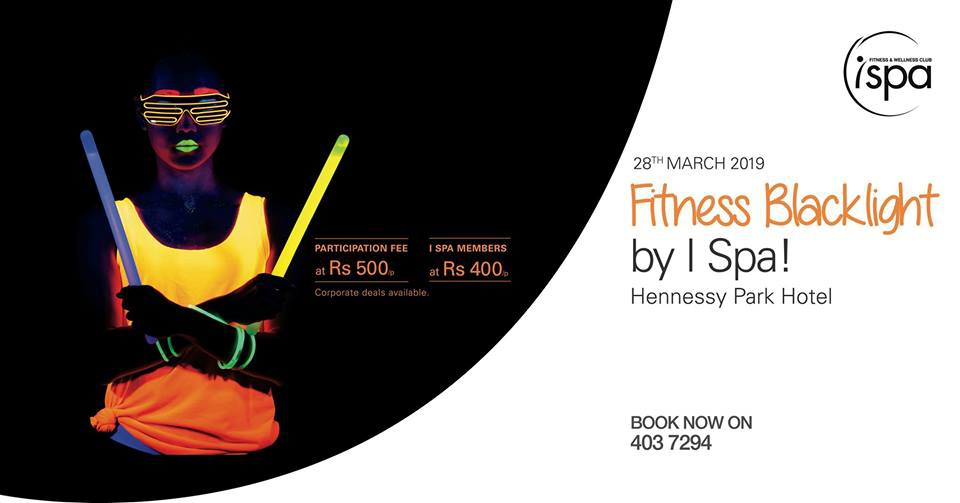 Fitness Blacklight at I Spa at Hennessy Park Hotel