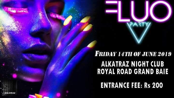 FLUO PARTY @Alkatraz