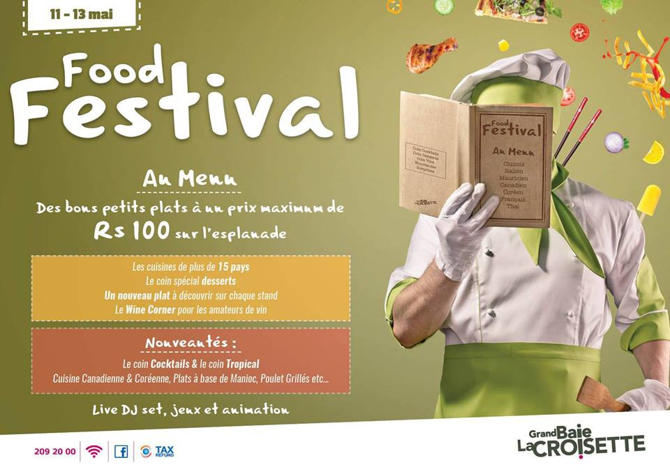 Food Festival at Grand Baie La Croisette