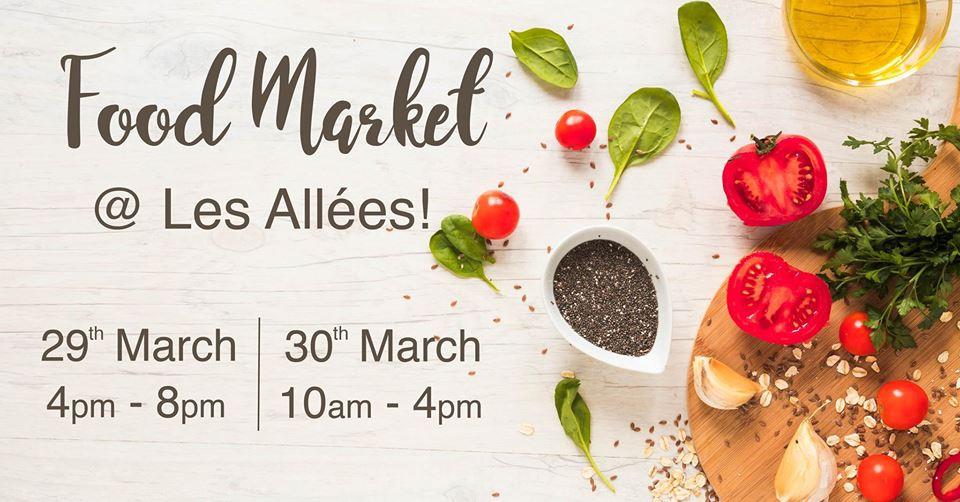 Food Market at Les Allées