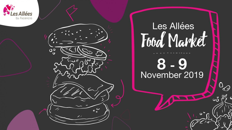 Food Market at Les Allées 8-9 Nov