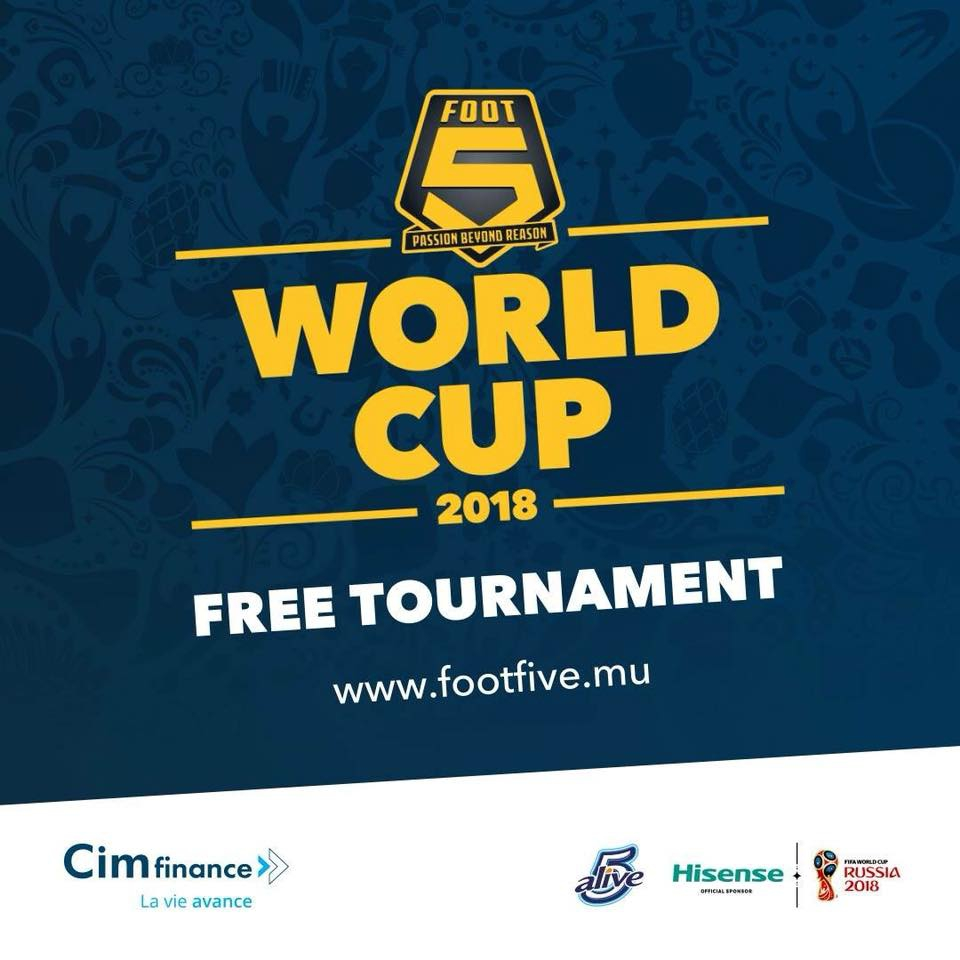 FOOTFIVE WORLD CUP 2018