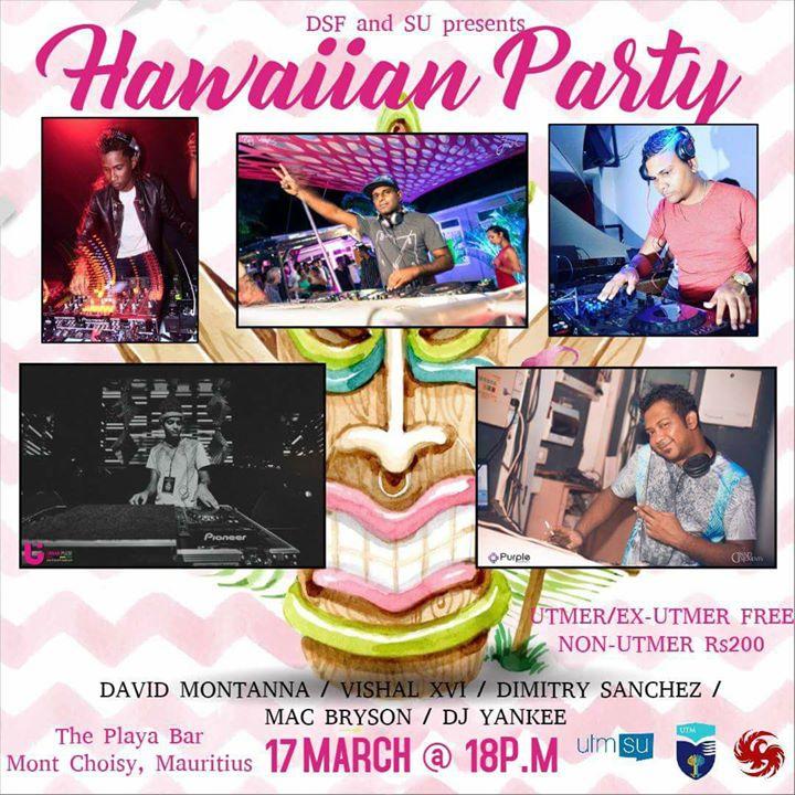 Freshers party - Hawaiian