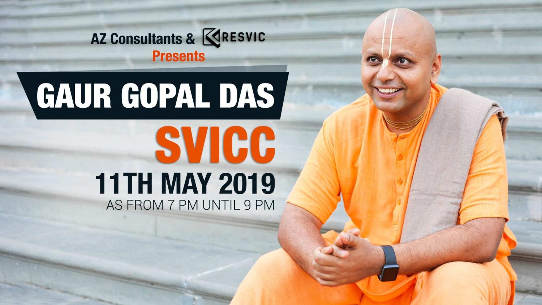 Gaur Gopal Das at SVICC