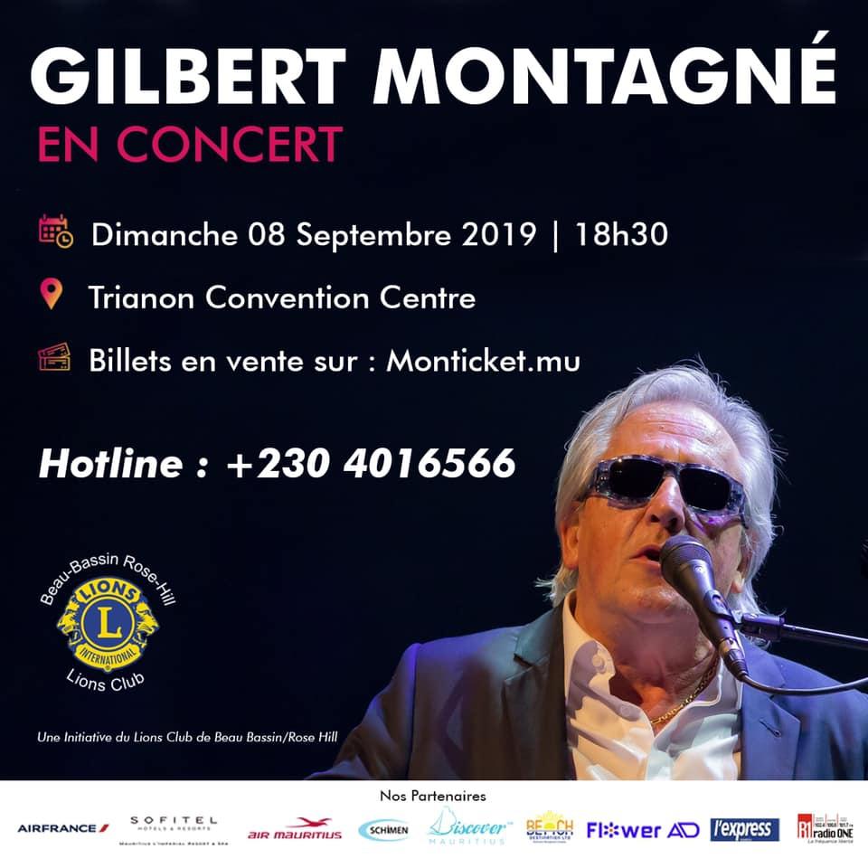 Gilbert Montagné in concert !