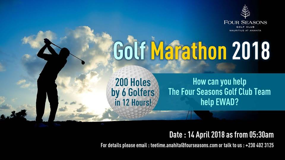 Golf Marathon 2018 in the Honor of EWAD - #200holes12hours