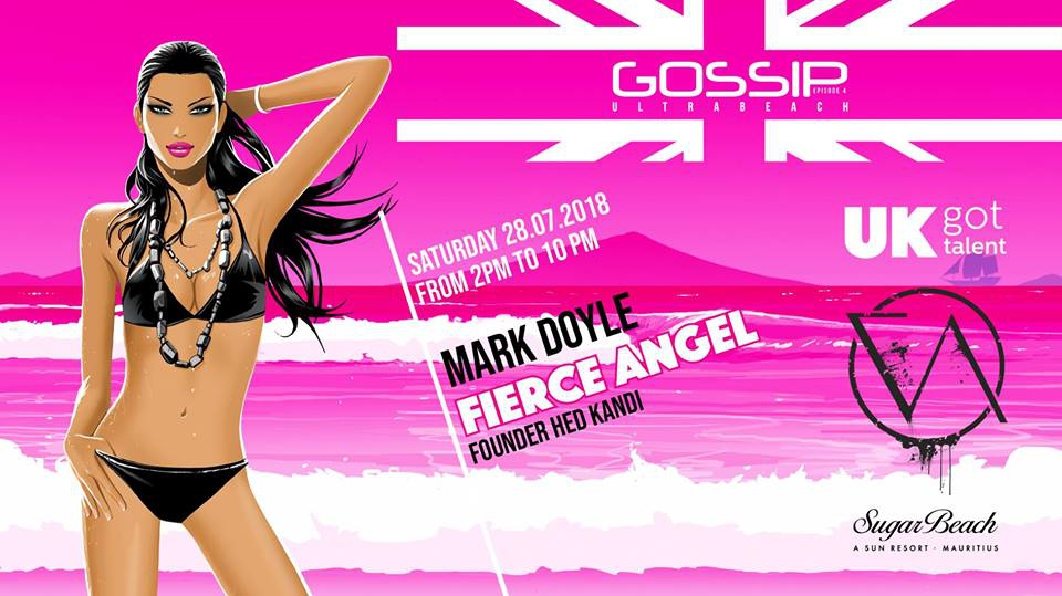 Gossip Presents Mark Doyle at Sugar Beach, A Sun Resort Mauritius