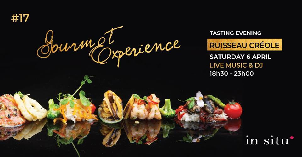 Gourmet Experience Edition 17 Ruisseau Creole