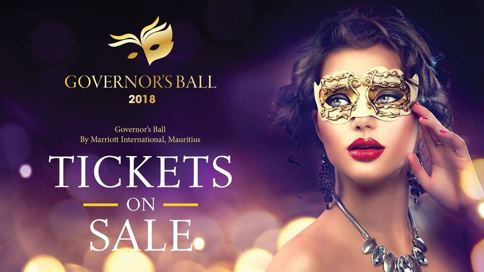 Governor's Ball 2018 by Marriott International, Mauritius