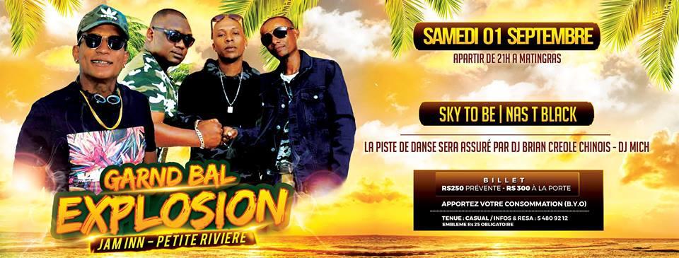 Grand Bal Explosion - Sky To Be - Nas T Black at Jam Inn