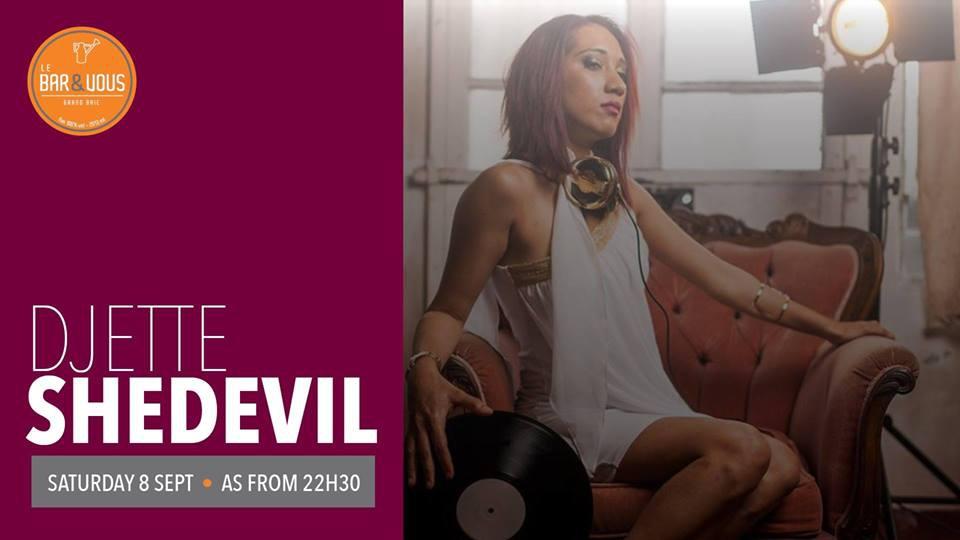 Groovy Beats feat. DJette SheDevil at Le Bar & Vous
