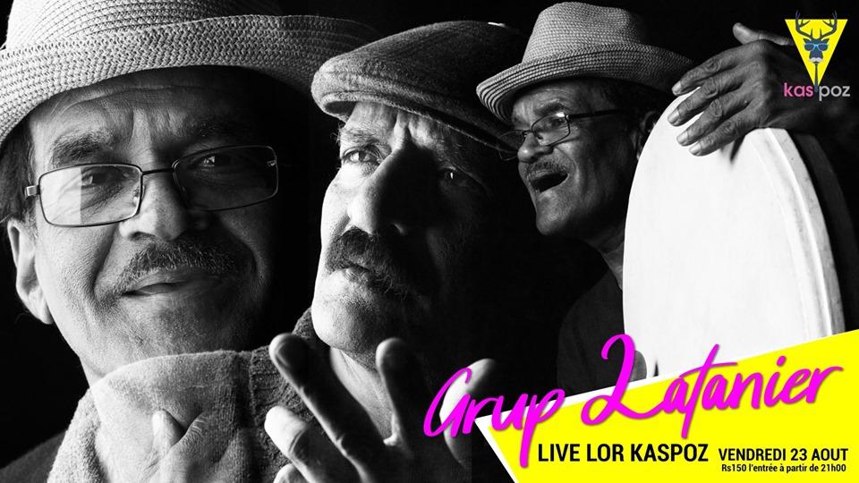 Grup Latanier en concert // Kas Poz // Vendredi Live