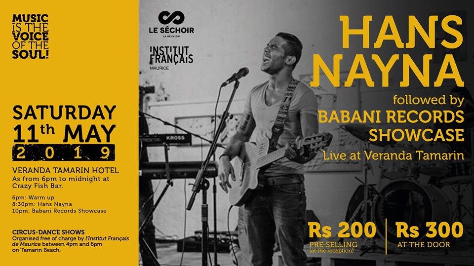 Concert at Veranda Tamarin!