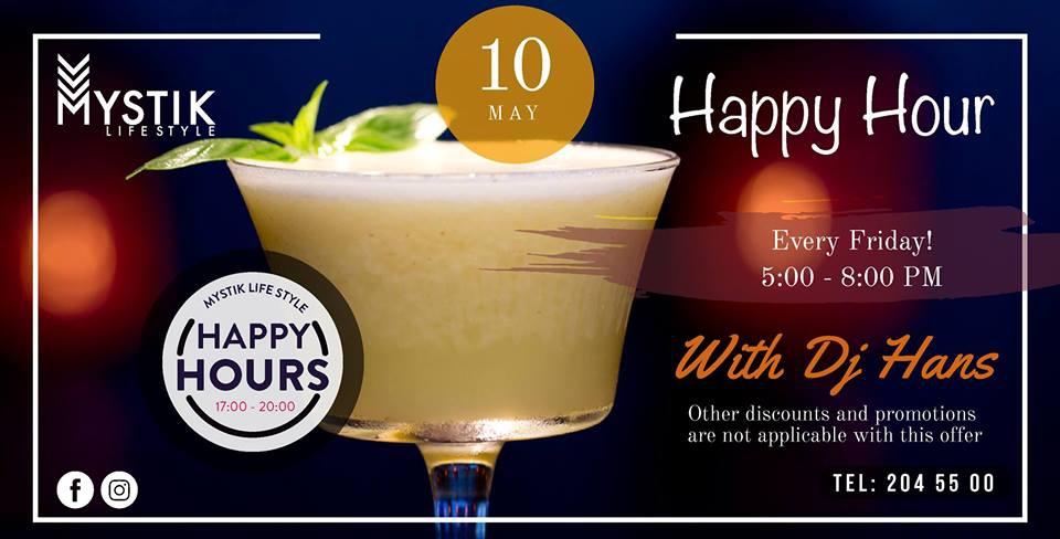 Happy Hour at Mystik Lifestyle Hotel