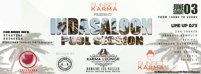Indasaloon Pool Session Party at Karma Lounge Restaurant