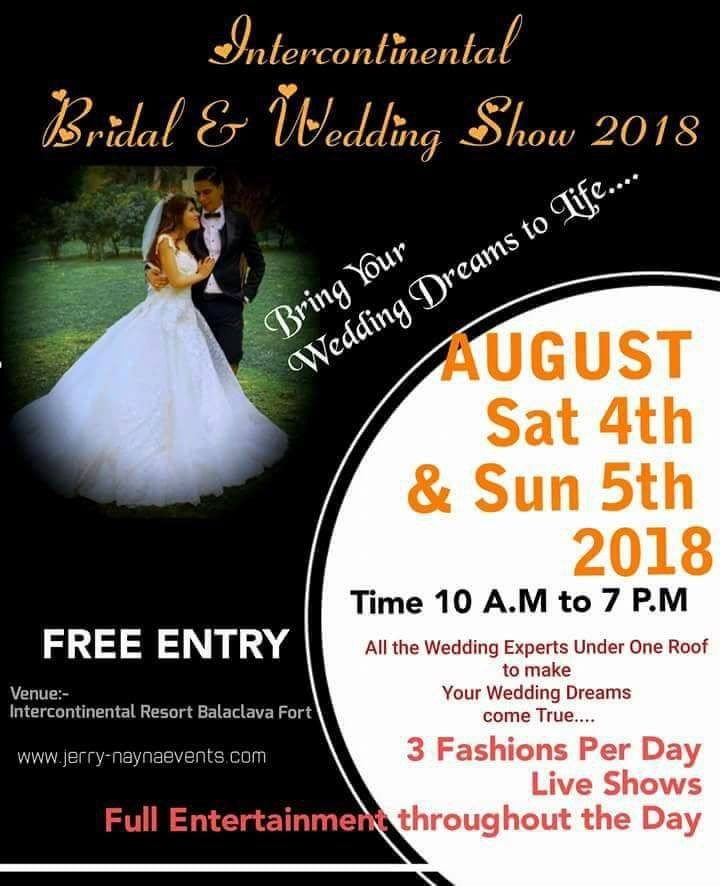 InterContinental Bridal & Wedding Show 2018