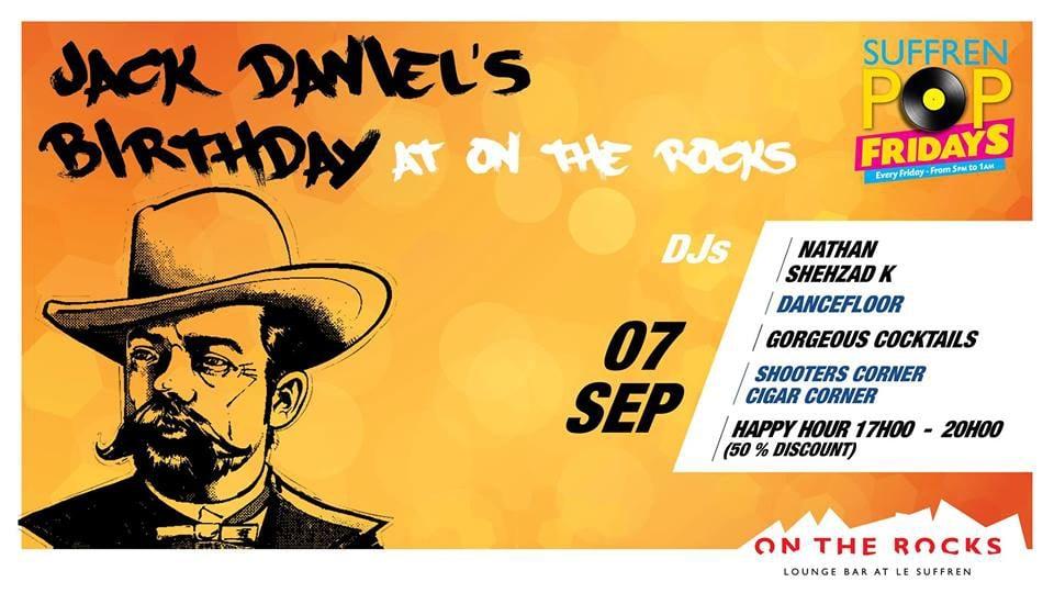Jack Daniel's On The Rocks!