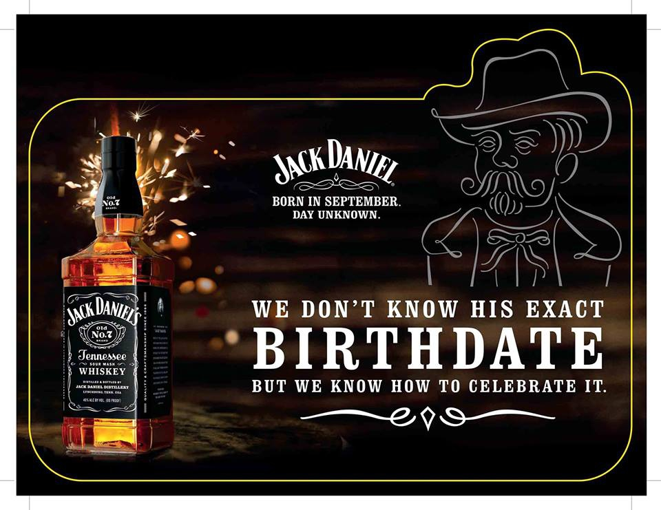 Jack's Birthday - Born in September, Day Unknown at The Irish