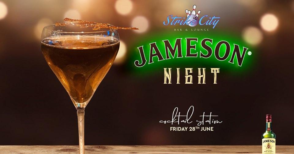 Jameson Night at Strike City