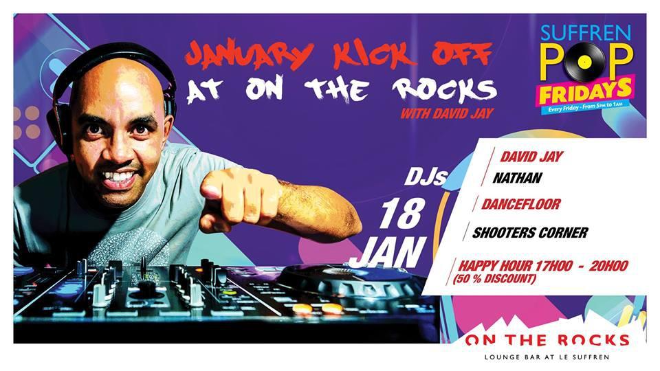 January Kick Off at On The Rocks with David Jay!