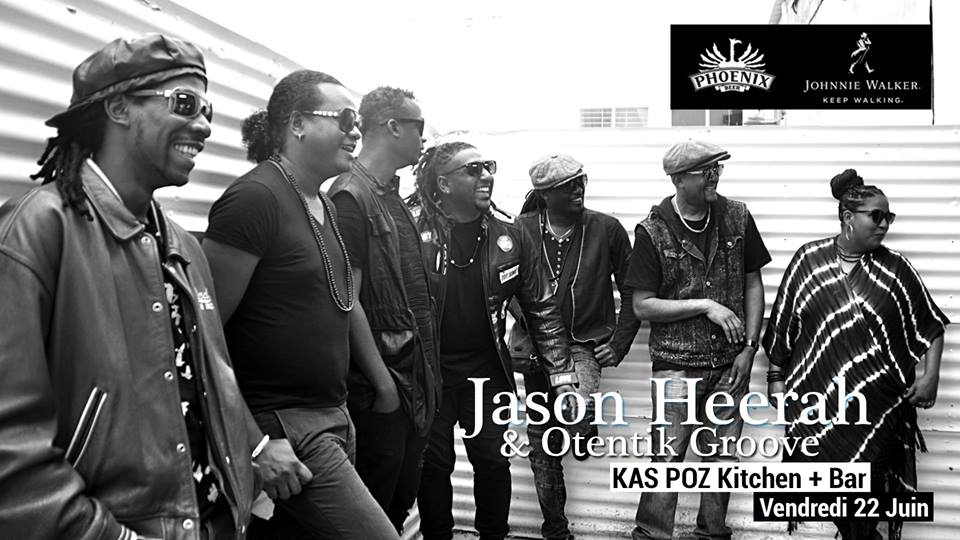 Jason Heerah & Otentik Groove // Kas Poz // Vendredi Live